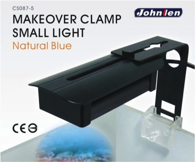 Johnlen Makeover Clamp LED – Mix Natural Blue Small 26cm max. (blue/white)