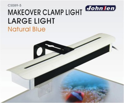 Johnlen Makeover Clamp LED -Mix Natural Blue Large 46cm max. (blue/white)
