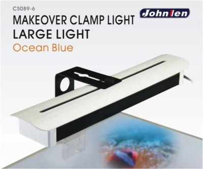 Johnlen Makeover Clamp LED -Ocean Blue Large 46cm max. (blue)