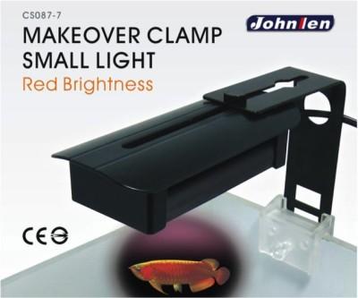 Johnlen Makeover Clamp LED – Red Brightness Small 26cm max.