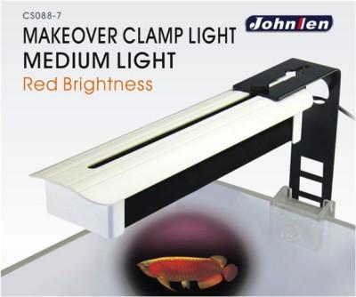 Johnlen Makeover Clamp LED – Red Brightness Medium 36cm max.