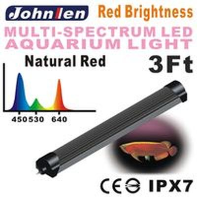 Johnlen Multi-spectrum LED light – Red Brightness 48W – 96cm/3′